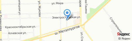 УралПромРегион на карте Челябинска