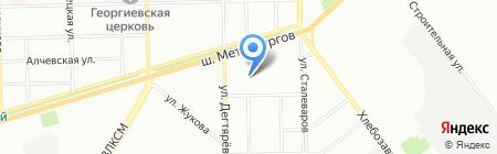 Орион Трейд на карте Челябинска