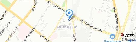 Уют-сервис на карте Челябинска