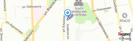 АкустикСтройПроект на карте Челябинска