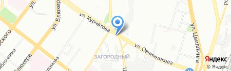 Flora Tardis на карте Челябинска