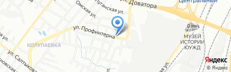 Слива на карте Челябинска