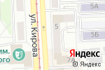 Схема проезда до компании АСК в Челябинске
