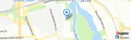 Надежда на карте Челябинска
