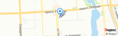 Магазин кожгалантереи на ул. Кирова на карте Челябинска