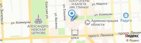 Банкомат Альфа-Банк на карте Челябинска