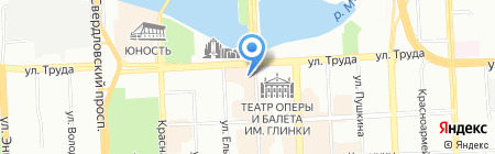 КнижникЪ на карте Челябинска