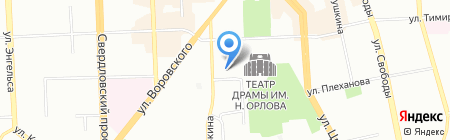 Инжстройпроект ОАНО на карте Челябинска
