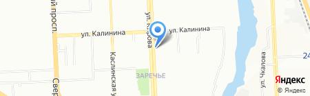 JU-JU на карте Челябинска