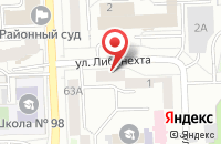 Схема проезда до компании Печатный Двор в Челябинске