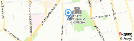 Пробиотик Плюс Урал на карте Челябинска
