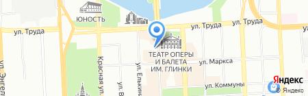 АЛМАС на карте Челябинска