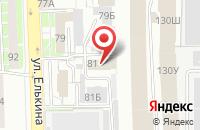 Схема проезда до компании Маркет Лига в Челябинске