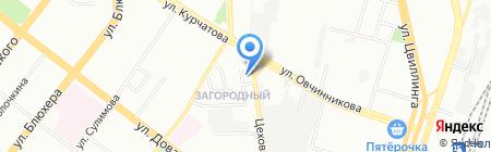 Столица цветов на карте Челябинска