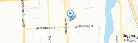 МЕГАДЕНТА ЧЕЛЯБИНСК на карте Челябинска