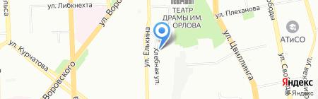 Печной мир на карте Челябинска