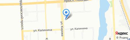 Апельсин-Тур на карте Челябинска