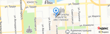 Тип-Топ на карте Челябинска