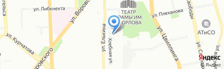 Авто-Тайм на карте Челябинска