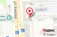 Схема проезда до компании Инвесткомплектсервис в Челябинске