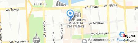 Мастер-Nail на карте Челябинска