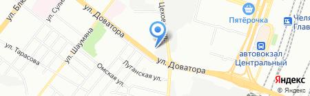 Компания РМС на карте Челябинска