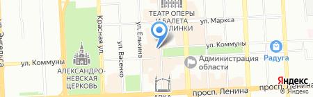 Павловопосадские платки на карте Челябинска