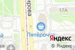 Схема проезда до компании Мехландия в Челябинске