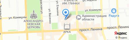 Wall Street на карте Челябинска