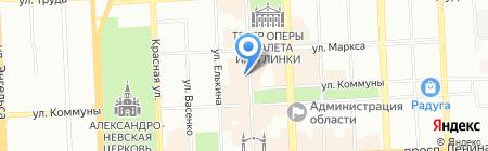Incanto на карте Челябинска