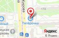 Схема проезда до компании Авантаж-Ойл в Челябинске