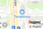 Схема проезда до компании Все лучшее-детям в Челябинске