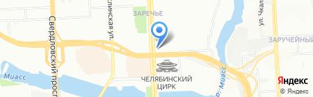 Банкомат Балтийский Банк на карте Челябинска