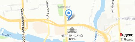 EliteMakeUp на карте Челябинска