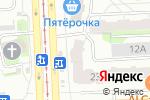 Схема проезда до компании Челперевод в Челябинске