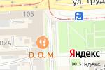 Схема проезда до компании Сити-форматы от Элефант в Челябинске
