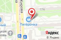 Схема проезда до компании Агрокомплект в Челябинске