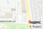 Схема проезда до компании Розничная сеть по продаже овощей и фруктов в Челябинске