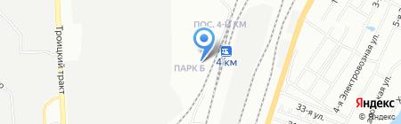 Гарант на карте Челябинска