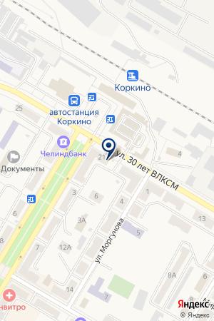 САЛОН ZOND GSM (ЗОНД ДЖИ ЭС ЭМ) на карте Коркино