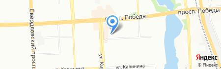 Фонд социального страхования РФ на карте Челябинска