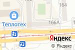 Схема проезда до компании Любовь в Челябинске