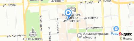 Room на карте Челябинска