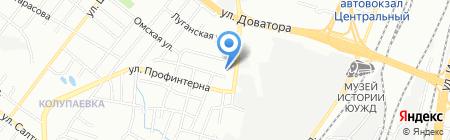 Мебель74 на карте Челябинска