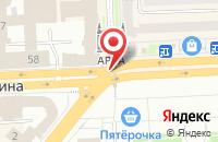 Схема проезда до компании Формат Плюс в Челябинске