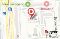 Схема проезда до компании Уралинвест в Челябинске