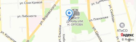 АБВ недвижимость на карте Челябинска