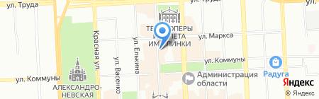 АСпринт на карте Челябинска