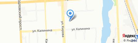 Детский сад №282 на карте Челябинска