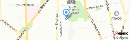 ЭТС на карте Челябинска